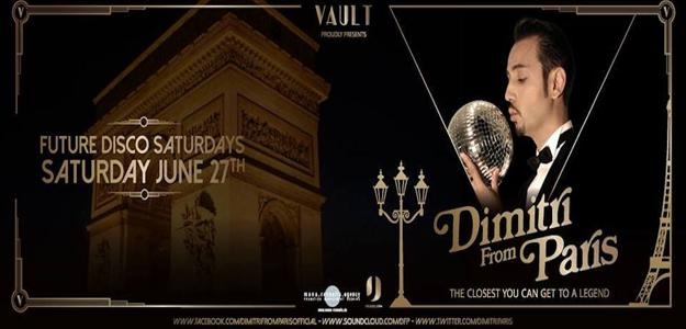 DIMITRI FROM PARIS @ VAULT