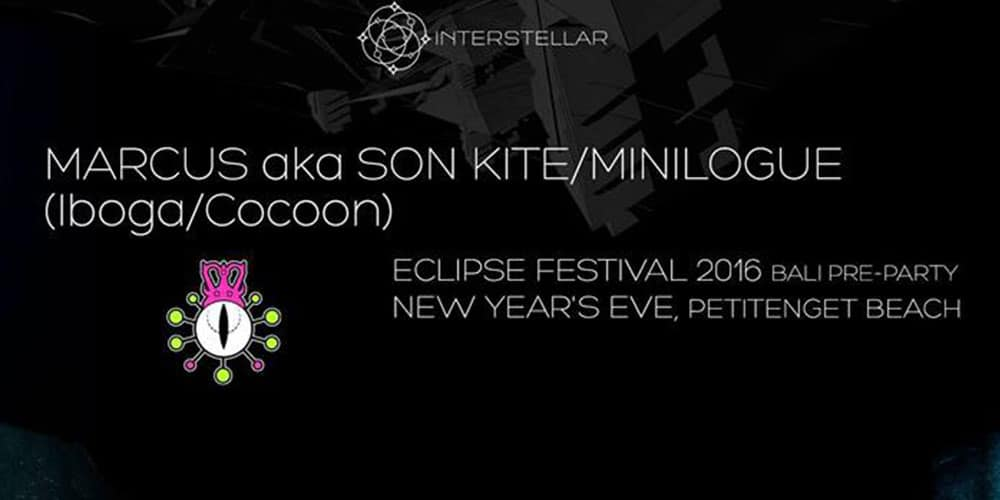 Eclipse Festival 2016 Bali Pre-Party x New Year's Eve