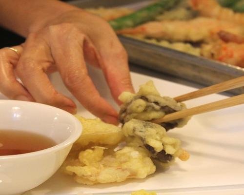 Have your tempura and eat it too! A Japanese Cooking Class at Palate Sensations