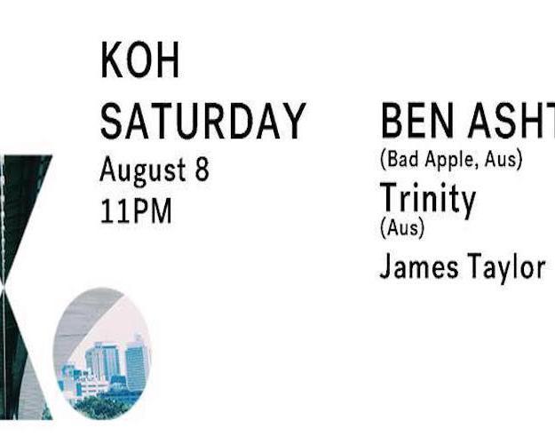 Koh Saturday – B_A (Solace Sydney, Aus) & TRINITY (Moodmusic Records)