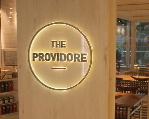 The Providore: a plentiful pantry!
