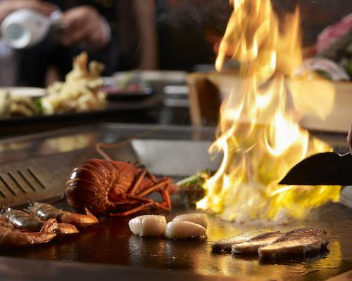 SHIMA – An old dining player in Japanese Teppanyaki