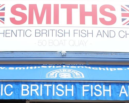 I do love my fish n' chips – Time for Smiths