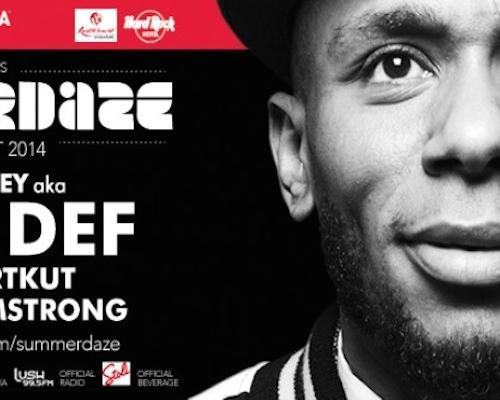 Preview: SUMMERDAZE Ft. Mos Def, DJ Shortkut & DJ Neil Armstrong