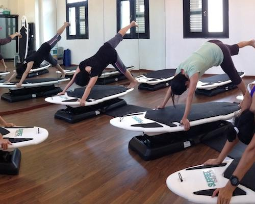 SURFSET: Surf your way to fitness!