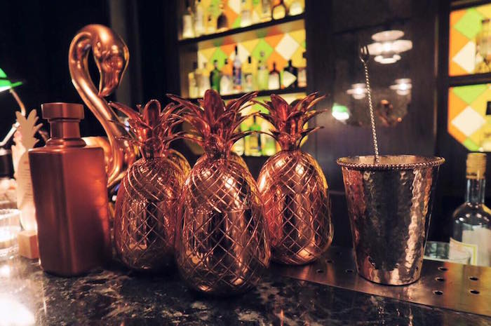 Absolut Elyx's Pineapple Cups at Gibson