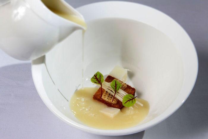 leek & potato soup portico prime dempsey singapore