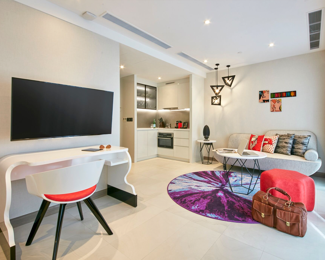 Singapore Staycation Spotlight: Oakwood Studios Singapore's Luxury Serviced Apartments in Orchard Road