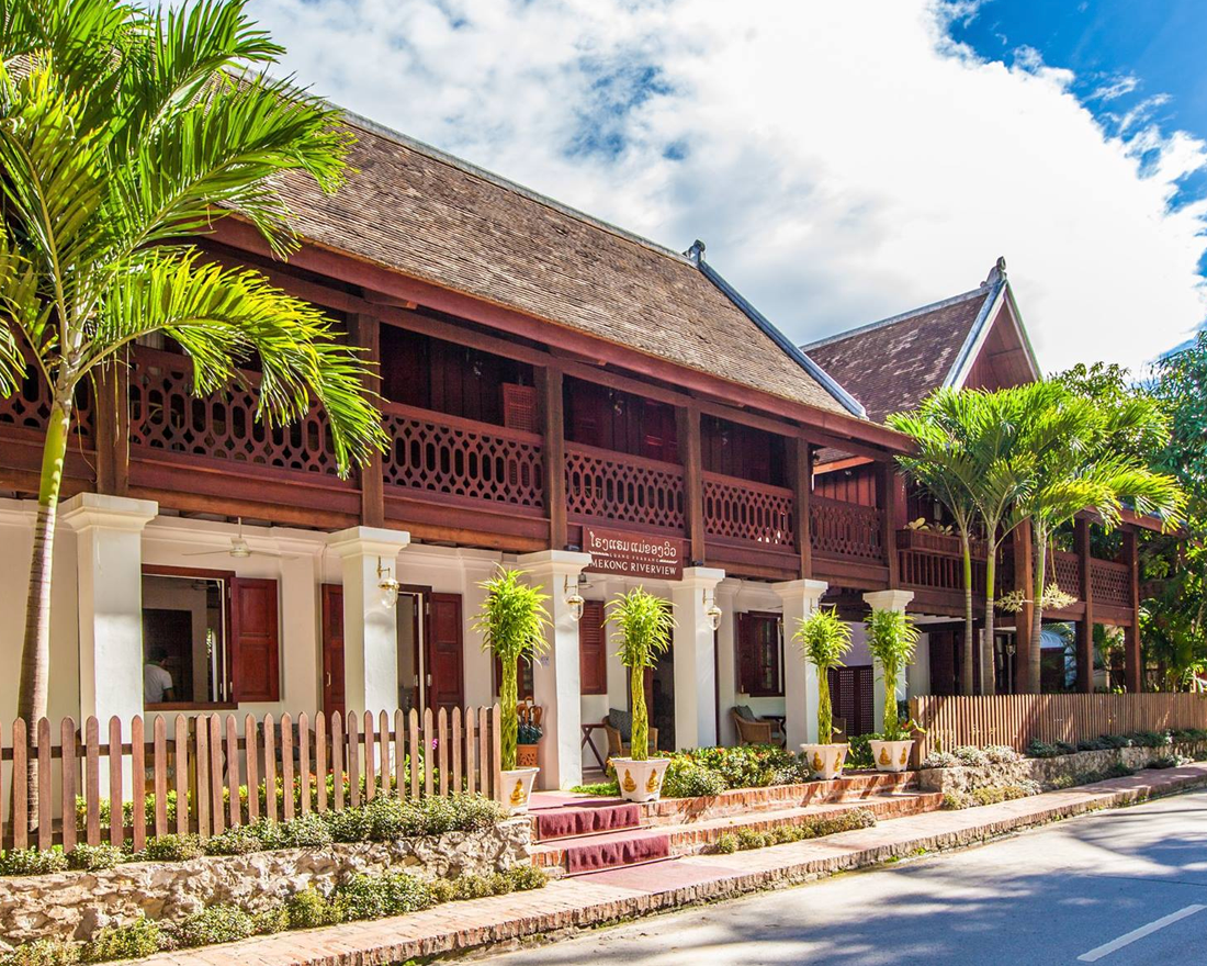 Mekong Riverview Hotel: Elegant Lao-Styled Furnishings and Mekong Review Views in Luang Prabang's Old Town, Laos