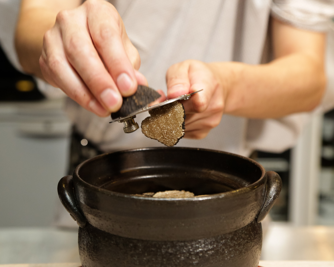 Saucy Singapore and Kamoshita Partner To Create Truffle Oden, Truffle Karaage, and Truffle Claypot Rice