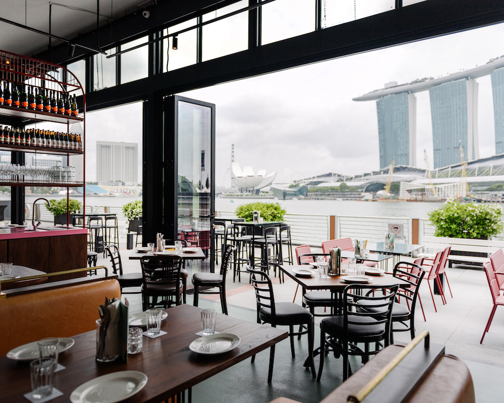 Bottomless Brunch in Singapore: Caffe Fernet's A La Carte Brunch Plates and Free Flow Cocktails with a View