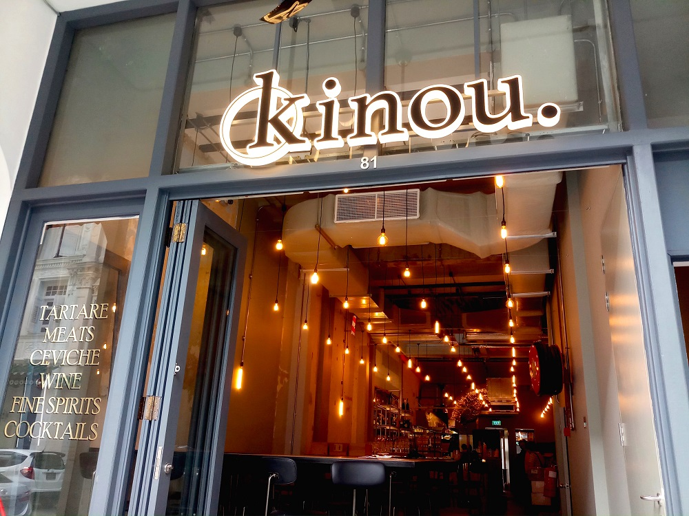 Restaurant Review: Kinou Is All About Ceviches, Tartares, and Cocktails on Tras Street, Singapore