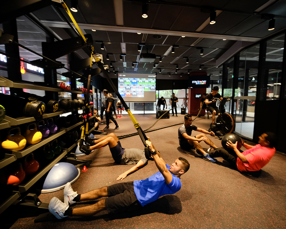 Gym Review: There's No Slacking off at Tech-Savvy TFX in FUNAN Mall, Singapore