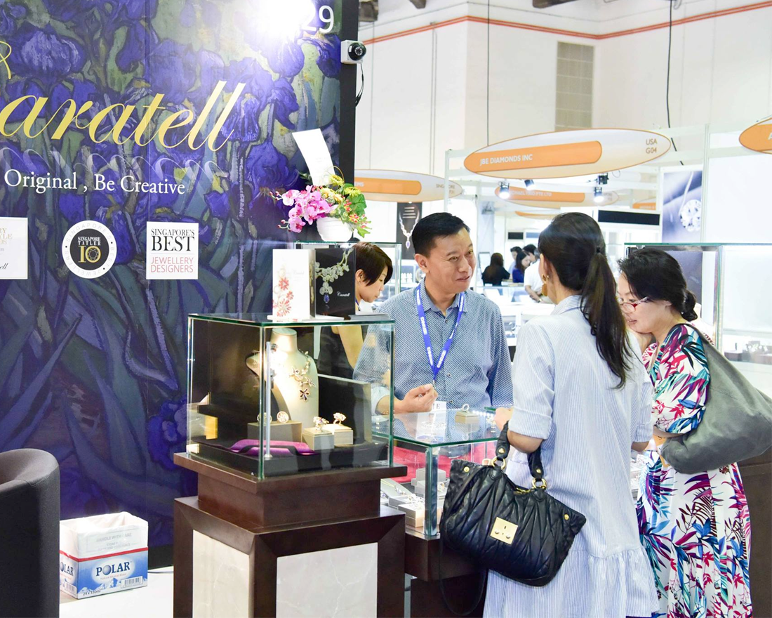 Singapore International Jewelry Expo 2019 Arrives This Week With Over 230 Exhibitors From 26 Countries