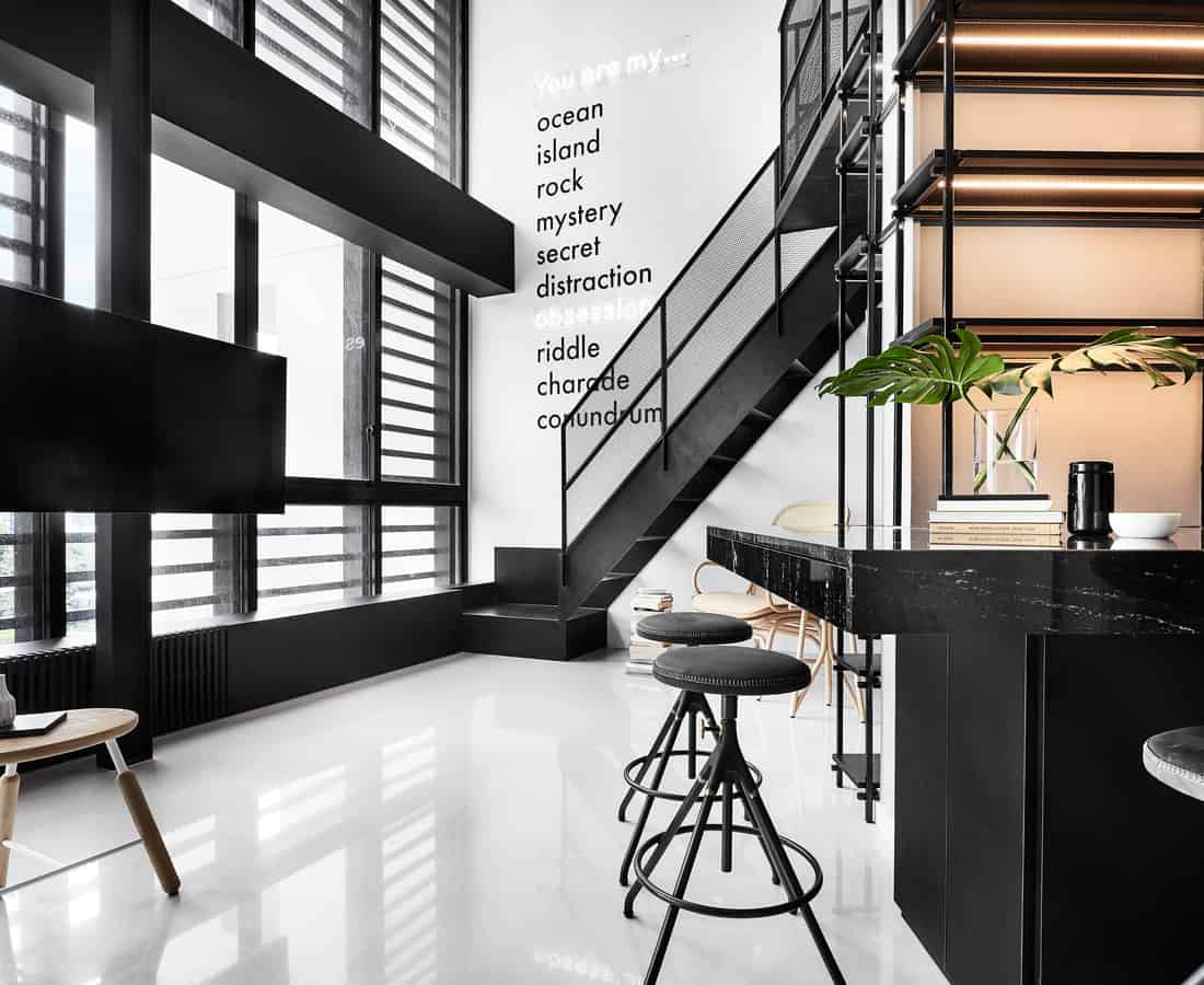 Designs On Asia: House Partying In Style At 1027 Sticks, A Monochrome Apartment In Singapore