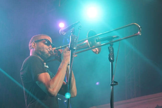 Trombone Shorty causing a sensation at Rock and Roots Festival - Fun activities in Singapore