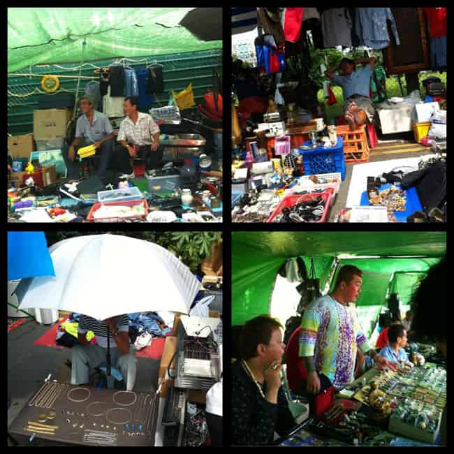 Sungei Road thieves market - shopping in Singapore