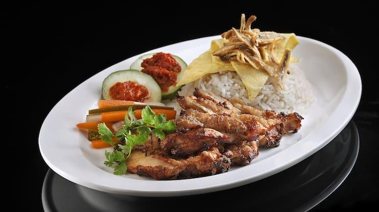 Nasi Lemak Singapore - Ujong