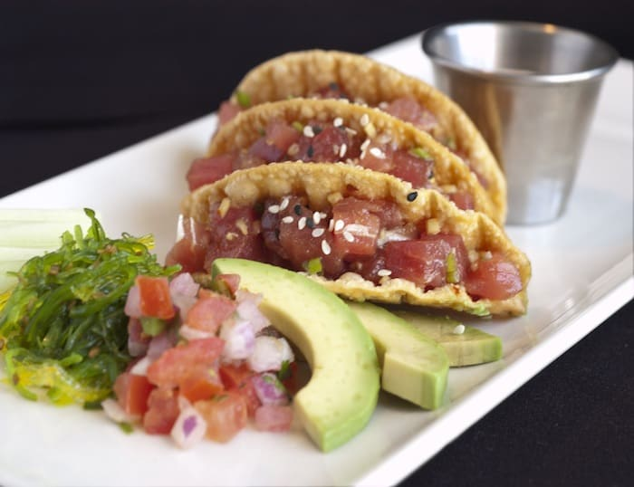 Morton's Singapore Review - Morton's The Steakhouse - tuna tacos
