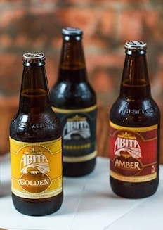 Beer from a craft brewery in Louisiana