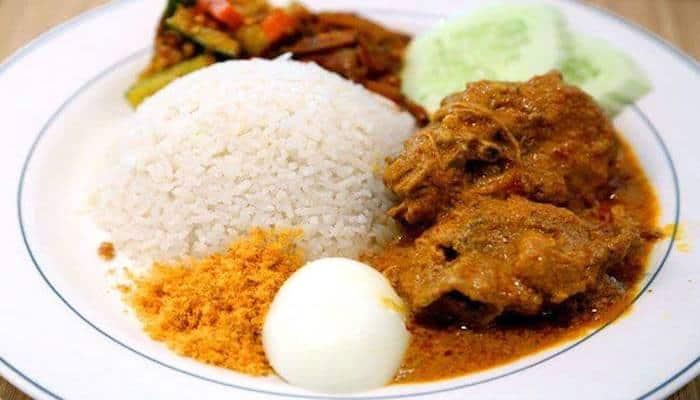 Nasi Lemak Singapore - Madame Kwan