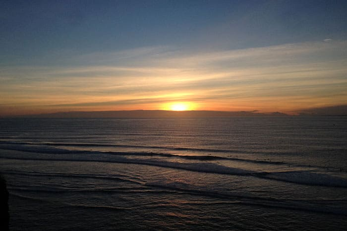 Single Fin best sunset view Bali Indonesia