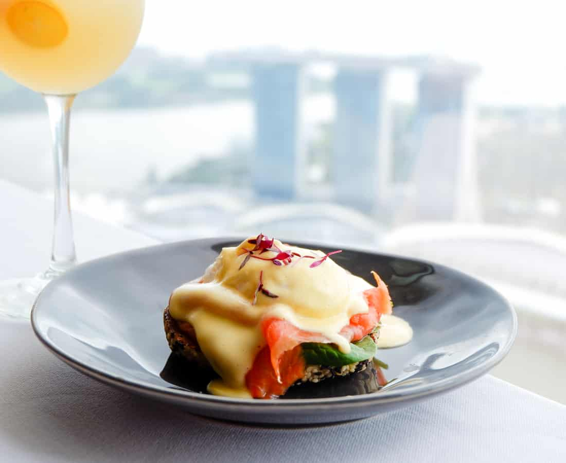 Bottomless Brunch in Singapore: Stellar at 1-Altitude Takes Sunday Brunch To New Heights With Bubbles & BBQ