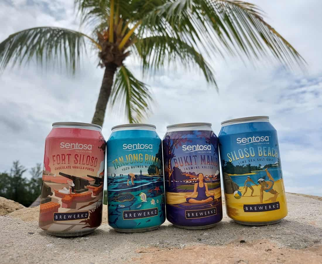 Fun In A Can: Sentosa's Islander Brew Is A Series Of Four Craft Beers Inspired By Island Life